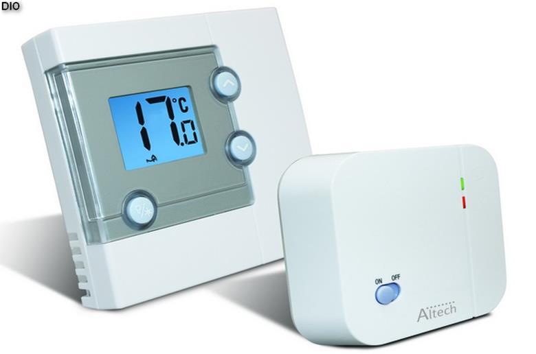 Беспроводной программируемый термостат для газового отопления